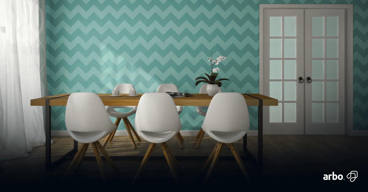 papel-de-parede-de-sala-de-jantar