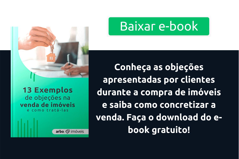 E-book – Objeções na Venda de Imóveis
