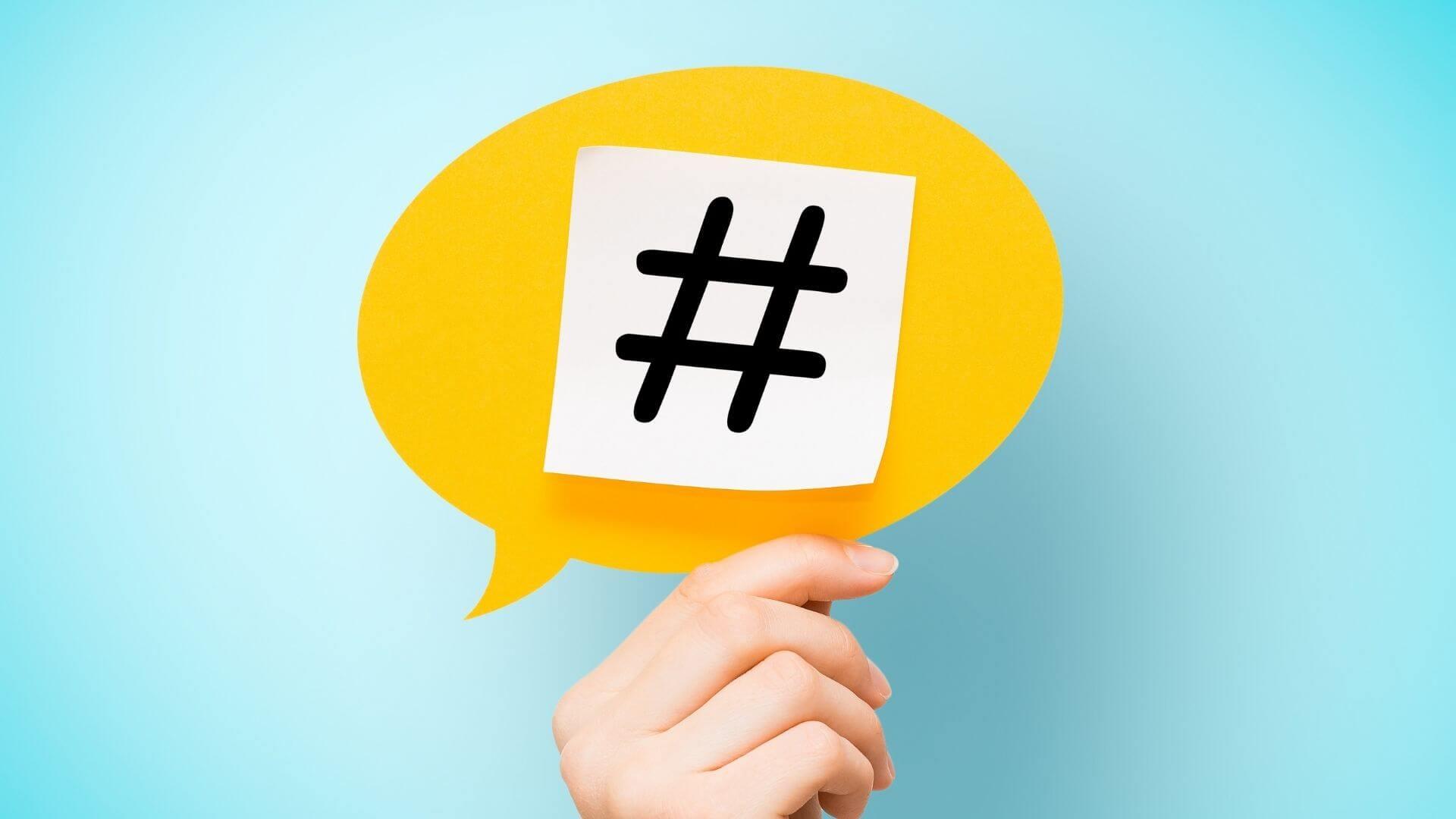 hashtags são importantes para as ações de marketing no instagram