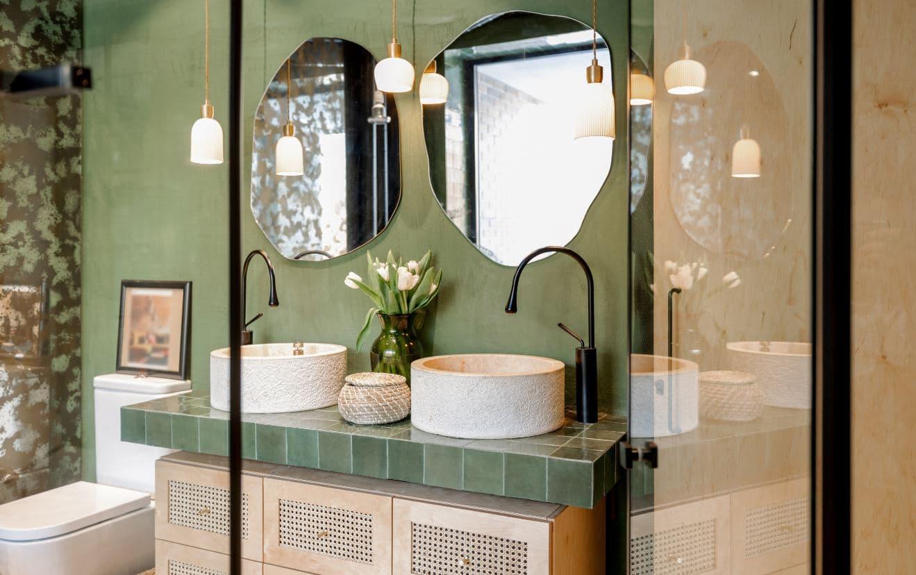 espelho decorativo para o banheiro
