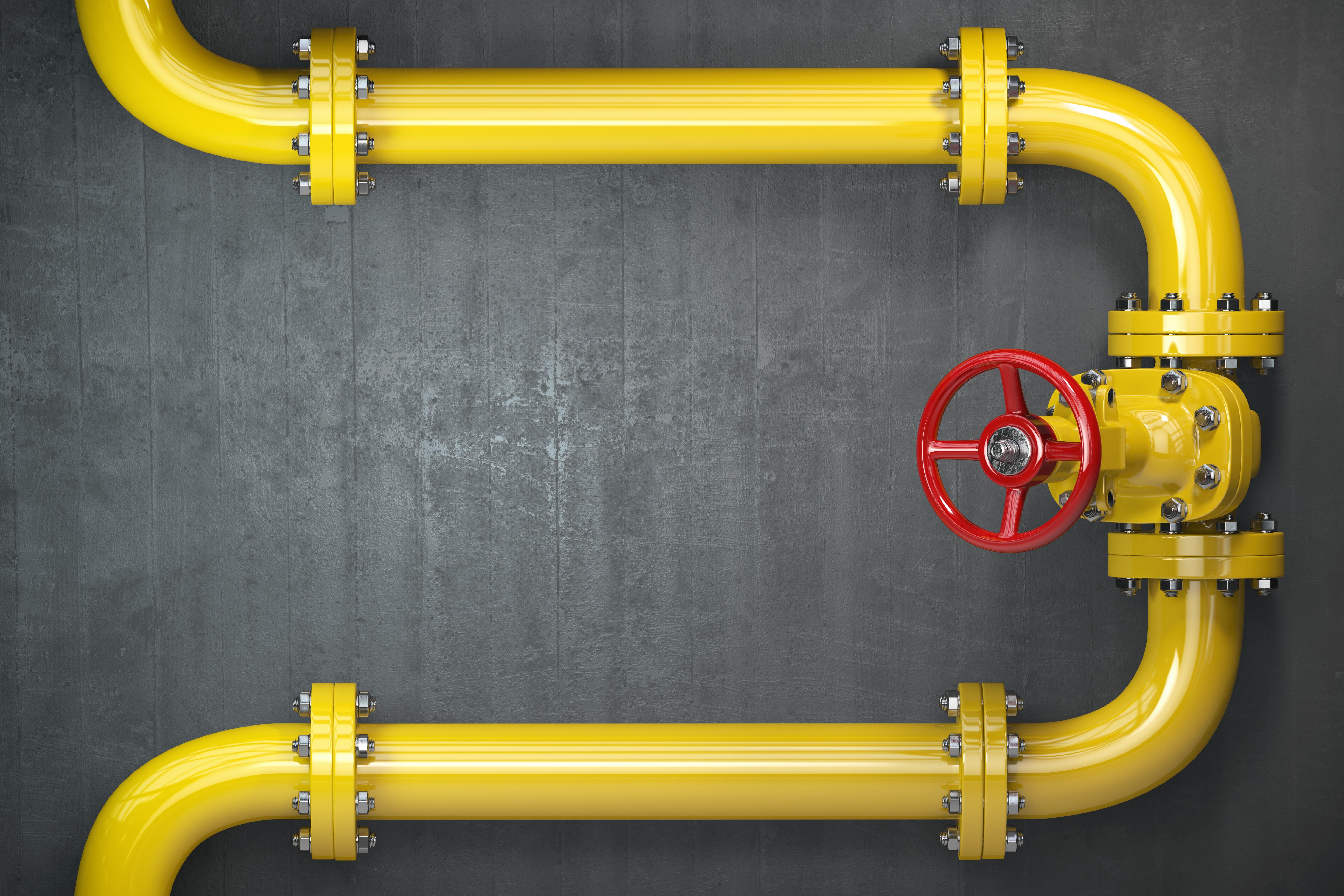 rede de gás