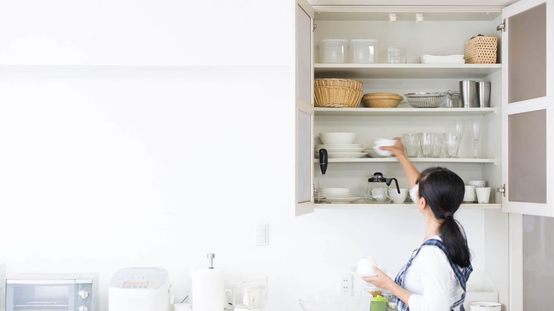 armário aéreo para cozinhas