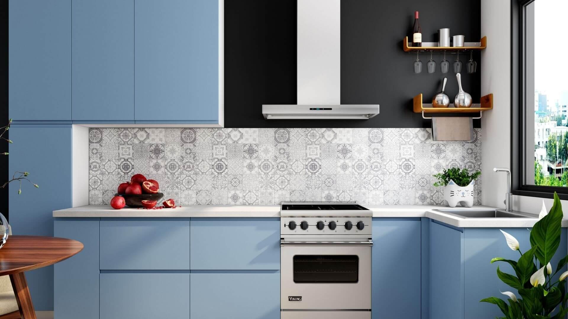 armário aéreo em cozinhas compactas