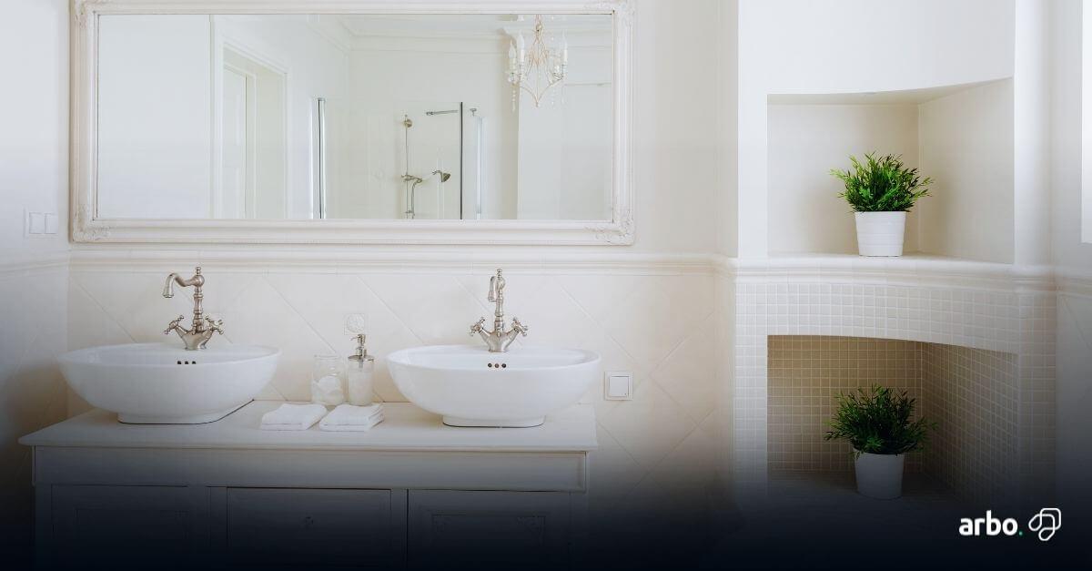 banheiro de casal decoração