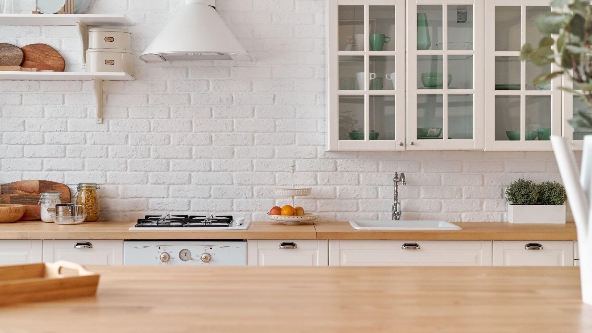 cozinha na organização da casa