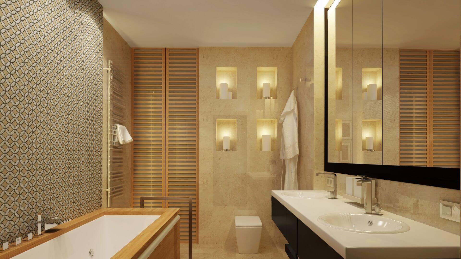 organizar banheiro espelhos