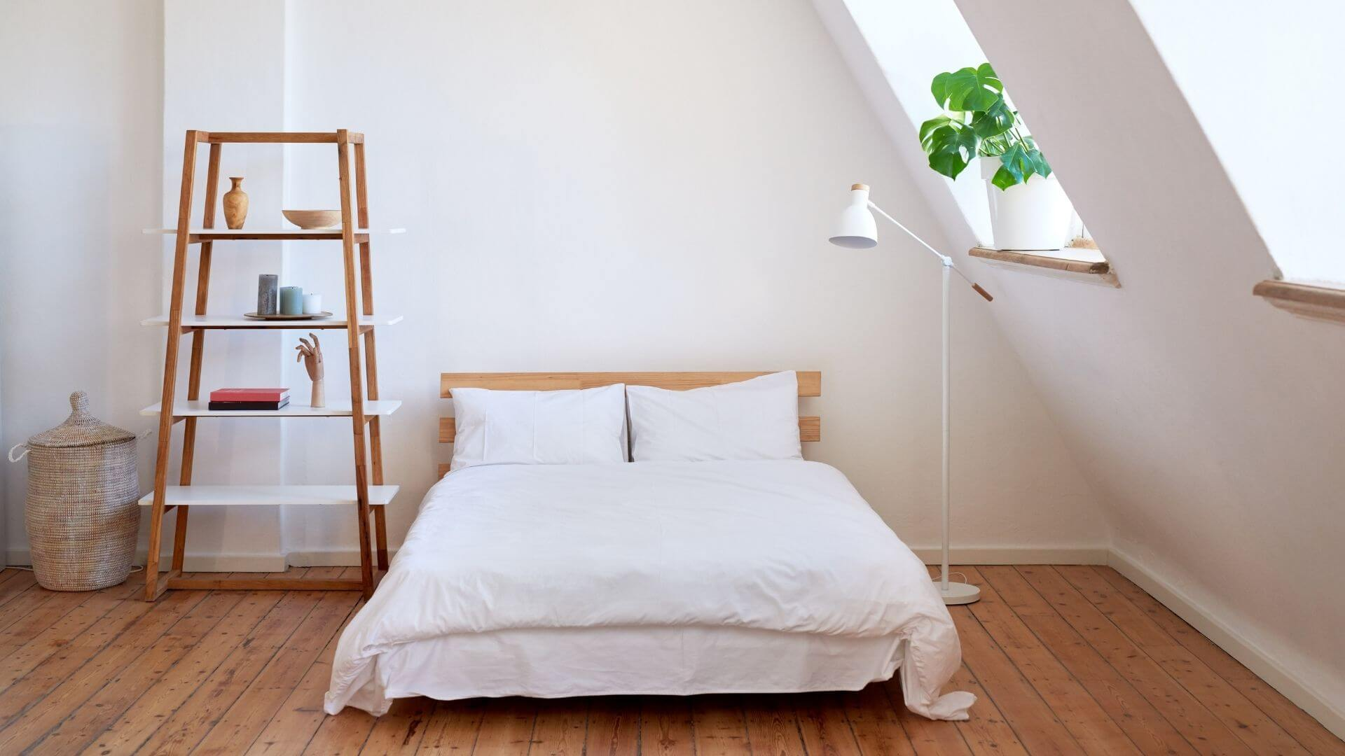 harmonização de ambientes no quarto