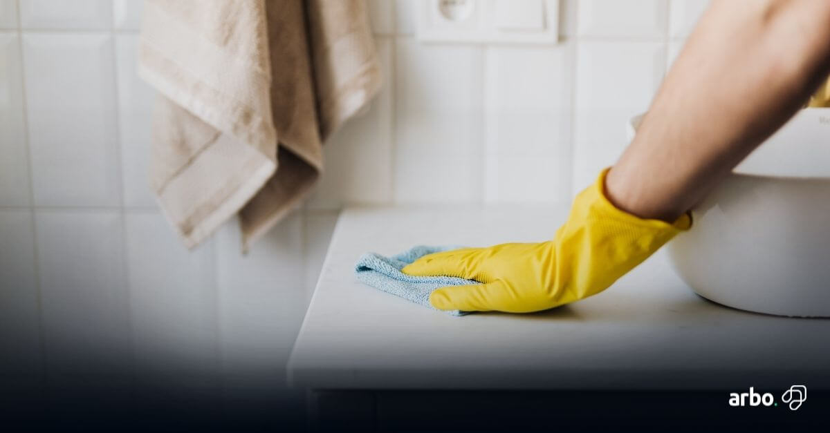 dicas de limpeza da casa