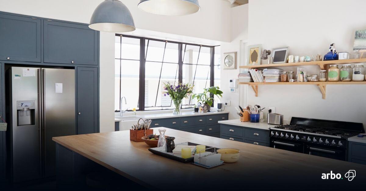 dicas de como organizar uma cozinha pequena