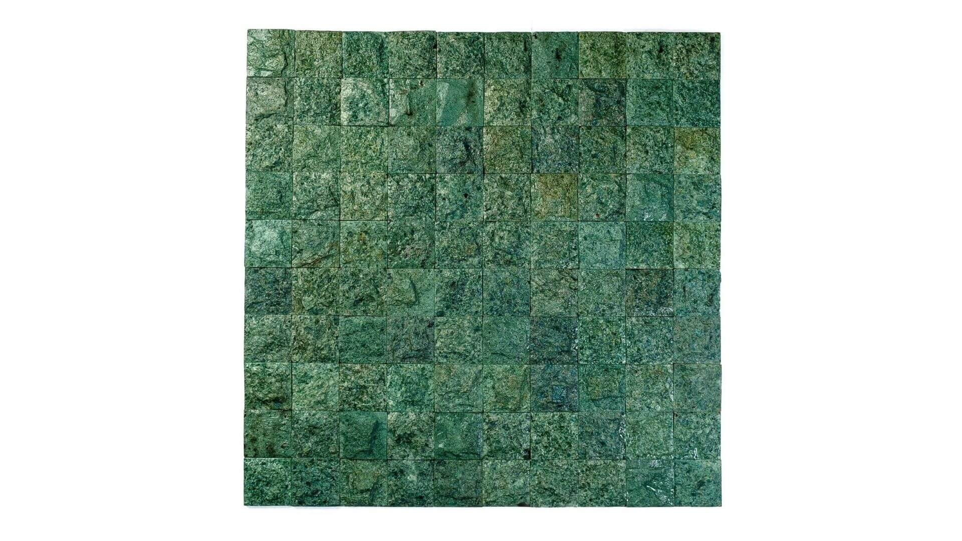 hijau revestimentos de pedras naturais