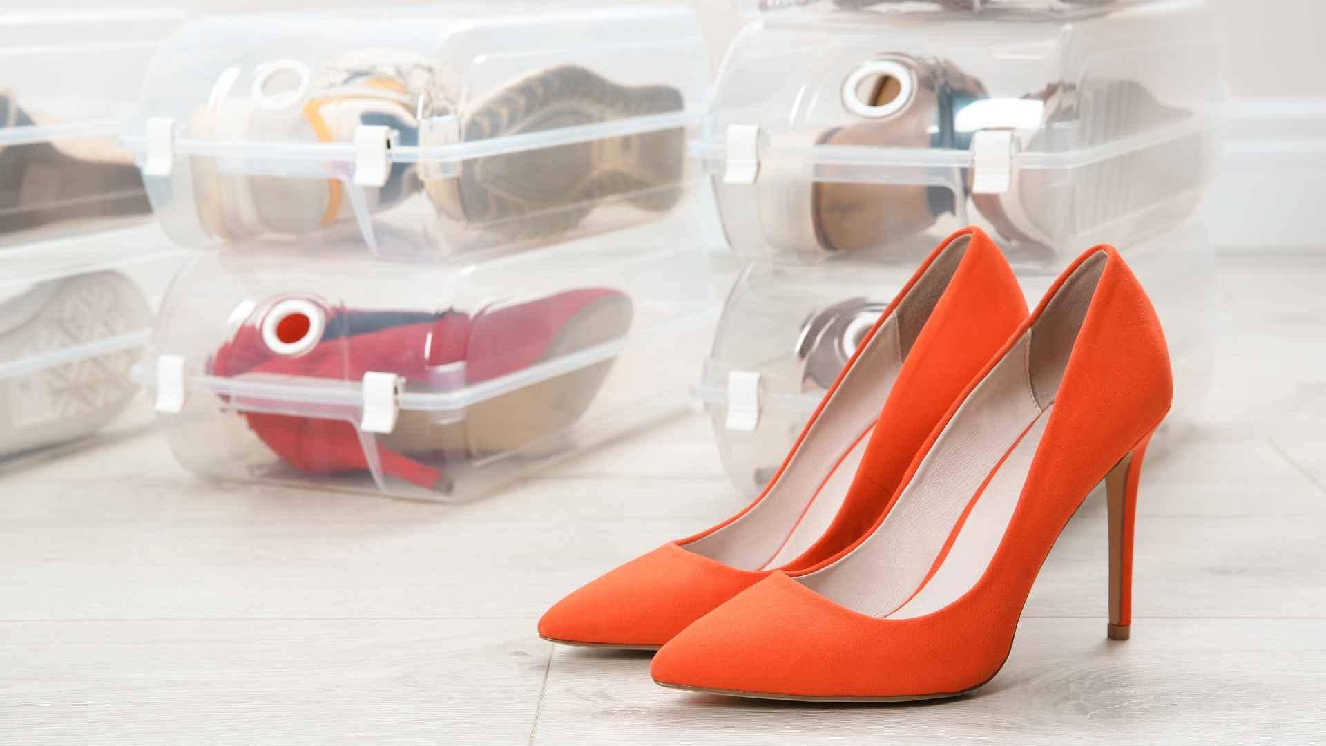 caixas organizadoras para sapatos