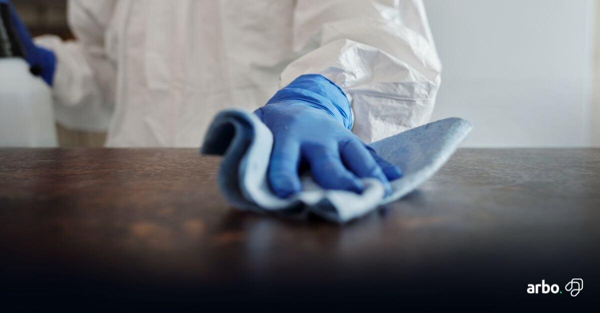 truques de limpeza de imóveis